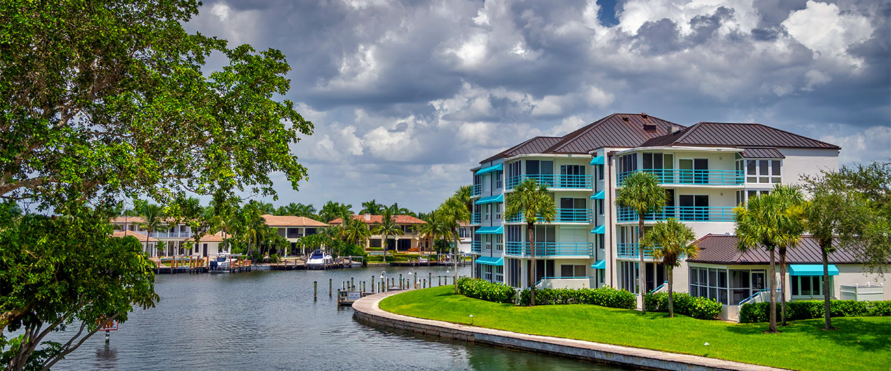 Bay in Naples, Florida | Antilles of Naples, Florida - West Indies Styled Residential Resort