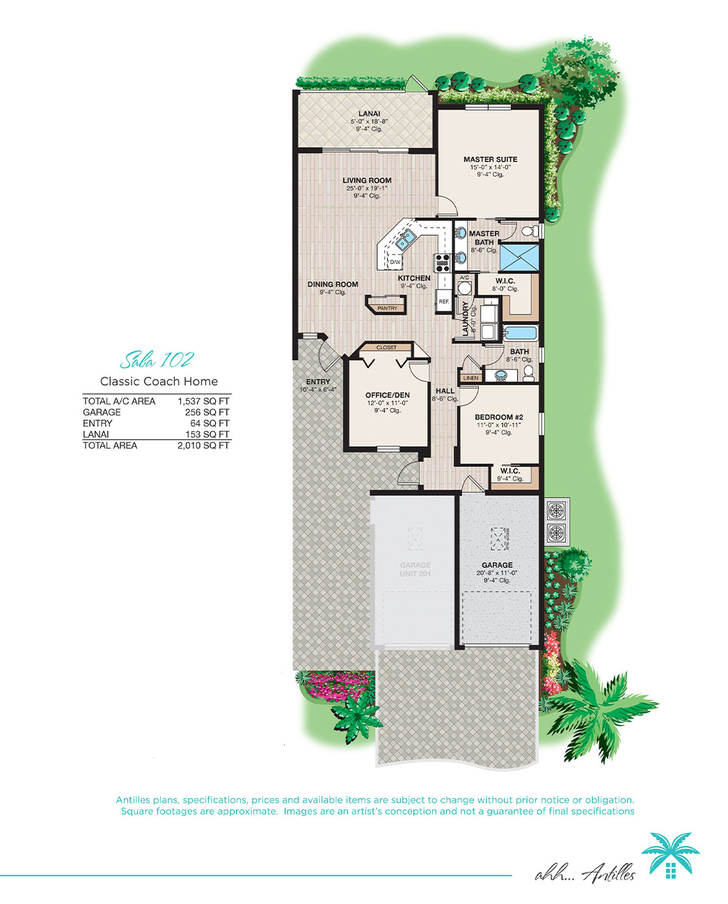 Classic Coach Homes Saba 102 | Antilles of Naples, Florida - West Indies Styled Residential Resort