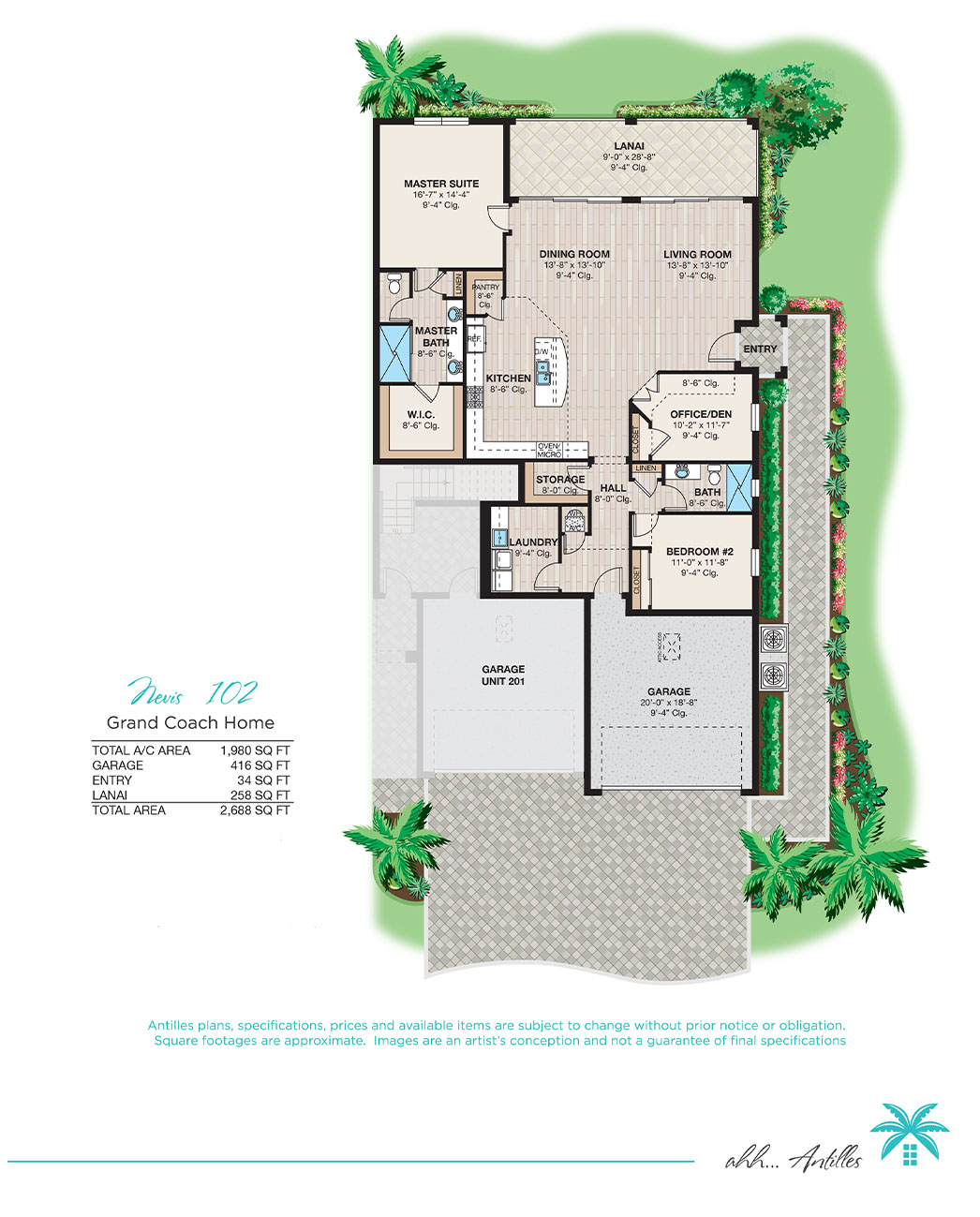Grand Coach Homes Nevis 102 | Antilles of Naples, Florida - West Indies Styled Residential Resort