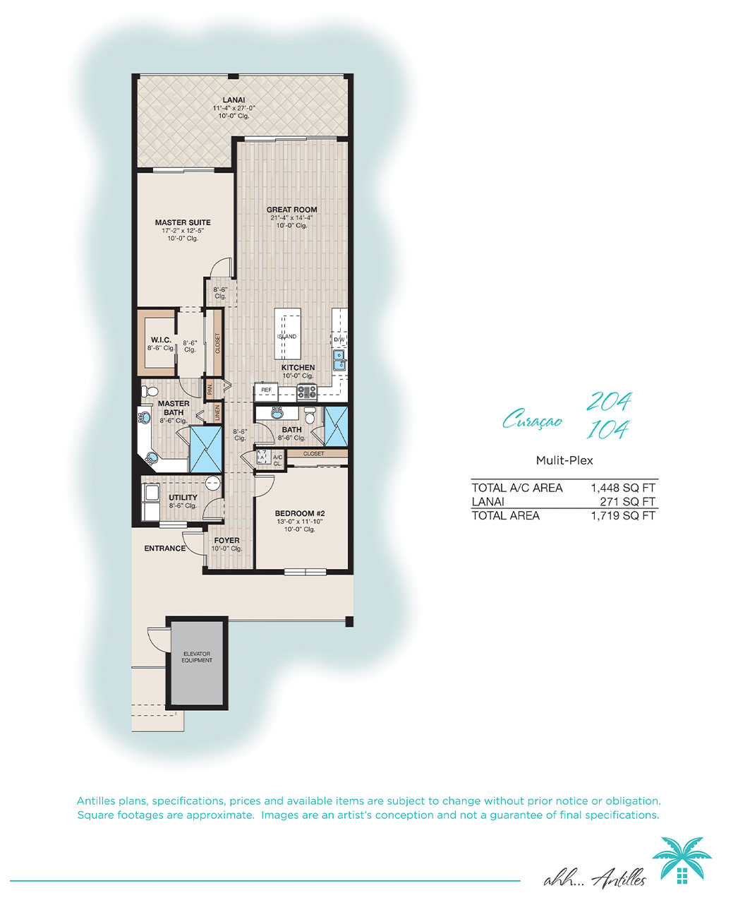 Multi-Plex Curacao 104 | Antilles of Naples, Florida - West Indies Styled Residential Resort
