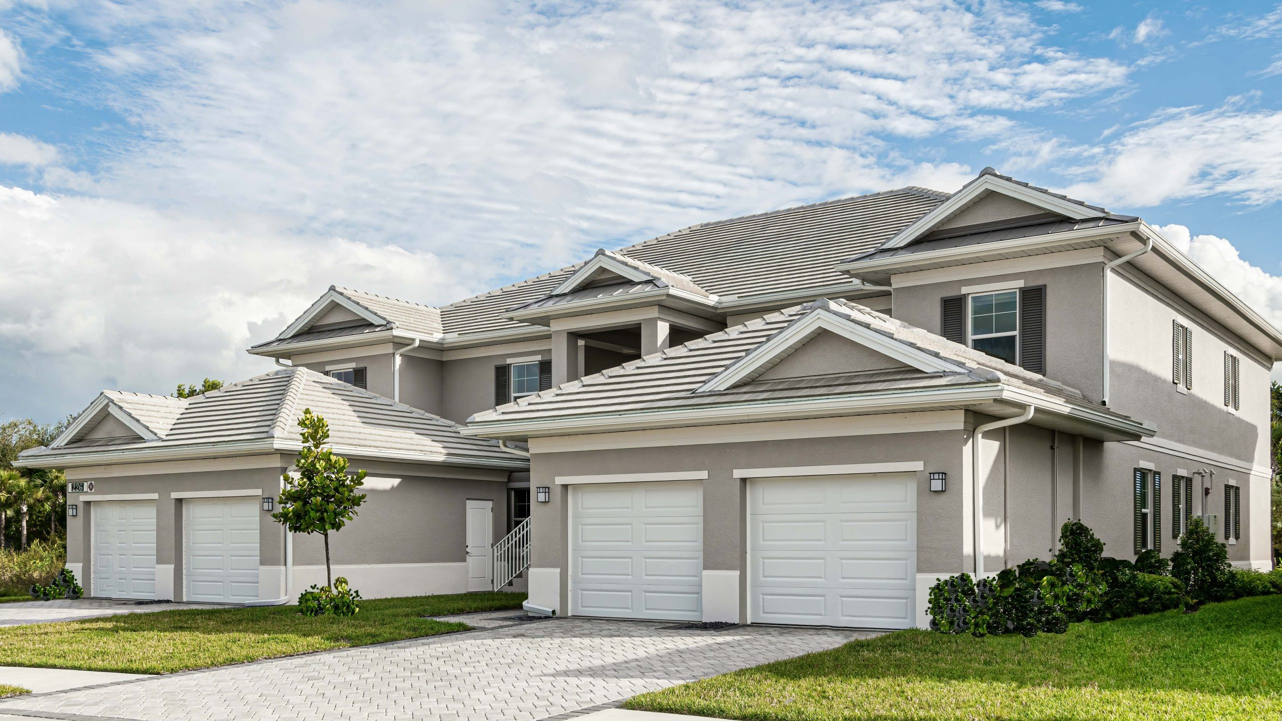 Classic Coach Homes Angled | Antilles of Naples, Florida - West Indies Styled Residential Resort